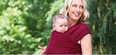 La fascia elastica porta bebè: 5 ottimi motivi per usarla
