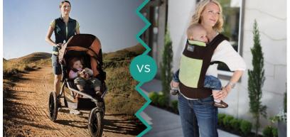 Una giornata in città: 5 motivi per lasciare a casa il passeggino e usare il marsupio ergonomico!