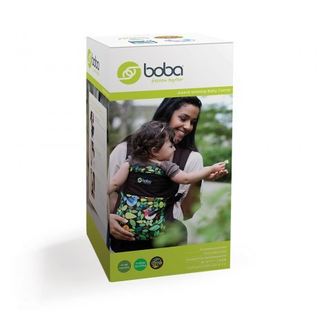 Marsupio Boba Carrier 4G in cotone BIOLOGICO - Verde