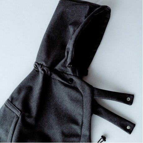 Cover invernale Softshell Little Frog - Graphite
