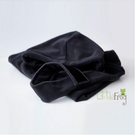 Cover invernale Little Frog - Black